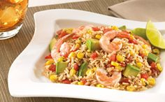 Tex~Mex Rice With Shrimp, Corn, and Lime  -=- From UncleBensRecipes.com, Mmm, Mmm Delicioso !!