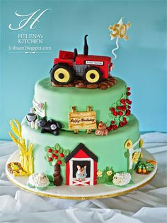 Helena's Kitchen: Farm Cake