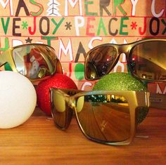 HAPPY HOLIDAYS!! Today is about giving... So we are stuffing your stockings with a free pair of G.L.A.M. Sunnies... Enter on Instagram