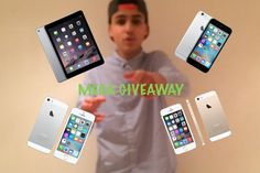 MEGA GIVEAWAY IPAD AND IPHONES 20K SUBS (OPEN)