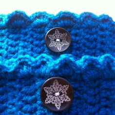 "Boot cuffs 34-36cm turquoise leg warmers wellie socks wooden buttons snowflake motive calves circumference 13.1/4""-14.1/4""inch READY TO SEND by PurpleValleyDesign on Etsy"