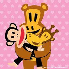 Paul Frank, Iphone 6 Wallpaper, Viera, Lisa Simpson, Monkey, Kids Room, Hug, Characters, Jumpsuit