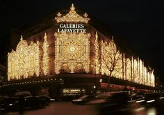 ... I loved to go shopping in the Galleries Lafayette
