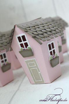 """http://www.fliederfee.de: Stampin' Up! Schenklis m. """"Ein Haus für alle Fälle"""" u. d. Thinlits """"Zu Hause"""""""