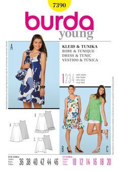Simplicity Creative Group - Burda Style, Dress & Tunic
