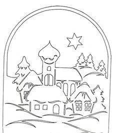 Вырезать белоснежные зимние пейзажи из белой бумаги для пастели одно удовольствие. Белизна придает особый шарм вырезанной картине, а если подобрать удачный темный фон, то эффект просто невероятный.…