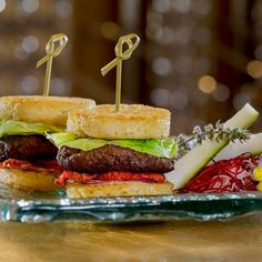 Looking for burgers on the strip? The Ramen Sliders are available at the Asian dining hotspot, Andrea's, in Encore at Wynn Las Vegas. (Photo Credit: Jeff Green)