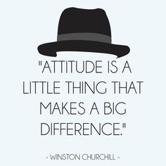 Winston Churchill quote #Attitude