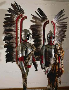 Winged hussar armor