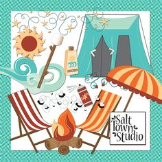 Beach Camp Elements