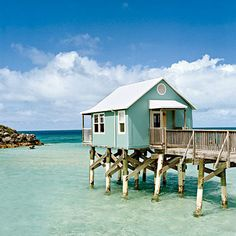 cabana on piers at 9 Beaches resort in Somerset Village, Bermuda
