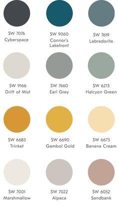 Family room design – Home Decor Interior Designs Modern Paint Colors, Room Paint Colors, Interior Paint Colors, Paint Colors For Home, House Colors, Neutral Paint, House Color Schemes Interior, House Color Palettes, Paint Color Schemes