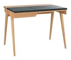 Beckett-työpöytä, pieni, ruskea   Vepsäläinen Terence Conran, Bed In A Bag, Alvar Aalto, Habitats, Office Desk, Furniture, Design, Home Decor, Desk Office