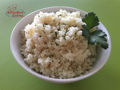 Cauliflower Rice is a great way to eat more veggies!