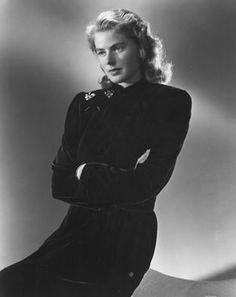 The luminously beautiful and talented Miss Ingrid Bergman