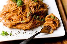 Super Quick Tomato Basil Cream Pasta   19 Creamy And Delicious Vegan Pasta Recipes