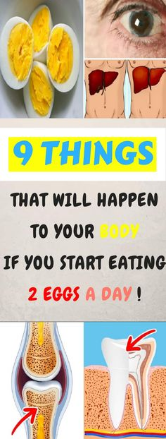 9 Things That Will Happen to Your Body if You Start Eating 2 Eggs a Day! #9things #body #2 #eggs #health #food
