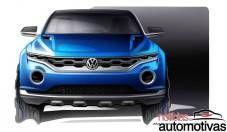 vw t roc 2 Volkswagen T Roc Concept é nova proposta para SUV compacto em Genebra