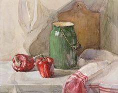 Still Life Drawing, Painting Still Life, Still Life Art, Watercolor Portraits, Watercolor Paintings, Painting Inspiration, Art Inspo, Balance Art, Academic Art