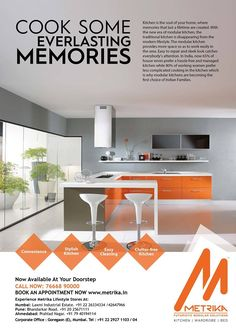 Metrika offering wide range of Modular Solutions for the  Indian Homemakers. ➡️Cook some Everlasting Memories  ✔️Convenience, ✔️ Stylish Kitchen, ✔️ Easy Cleaning  ✔️Clutter- Free Kitchen ➡️ Our Store At Your Door Step. You can connect with Metrika for a customised solution at  your very own doorstep ! 📞 Call us : +91 7738392159 #MetrikaKitchens #ModularSolutions #modularkitchens #beds  #wardrobe #classy #FuturisticModularSolutions #Homemakers  #DoorStepService #MetrikaDesign