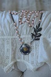 JAL Necklace Brocante Rose