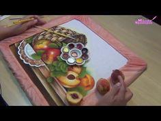 Pintando com Márcia Spassapan - Cesta com Frutas - YouTube