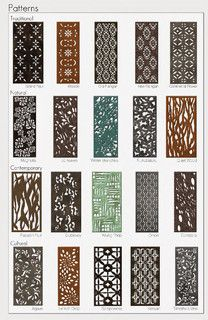Parasoleil patterns - eclectic - screens and wall dividers - other metro - by Parasoleil