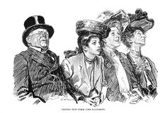 Various works by Charles Dana Gibson « The Artistic Anatomy Blog