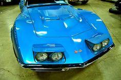 Corvette, with my favorite color!