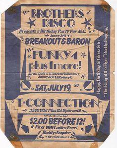 80s flyer