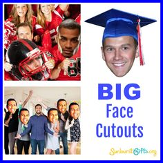 Big Face Cutouts are just right for all ages and the perfect accessory for  any party 2f9236136