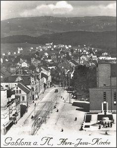 Pohled na Mšeno z Jablonce