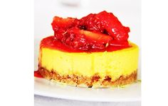 Mini-cheesecake de limão - http://www.sobremesasdeportugal.pt/mini-cheesecake-de-limao/