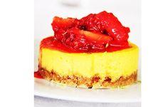 Mini-cheesecake de limão - http://www.sobremesasdeportugal.pt/mini-cheesecake-de-limao/