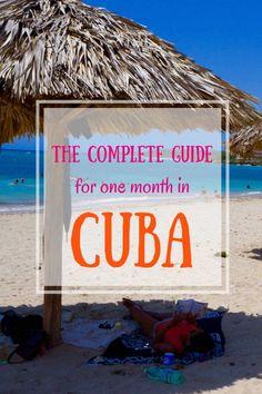 1 month itinerary for Cuba & cuba travel guide to: Havana, Viñales, Bay of… Cienfuegos, Vinales, Cuba Travel, Travel Abroad, Beach Travel, Mexico Travel, Spain Travel, Varadero, Cuba Island