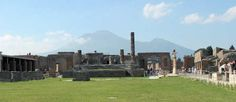 Pompei is a city in the province of Naple Italy, famous for its ancient Roman ruins.