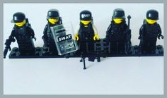 Custom S.W.A.T. Team of Lego and parts of Brickarms.  #lego #legophotography #instalego #legos #legostagram #legogram #swat #police #minifigs #minifigure #legominifigures #custom #legoclub #legolife #blokpod #legocommunity #toys #brickstagram #bricks #brickarms #brickcommunity #bricknation #bricknetwork #brickcentral #brickphotography #brickfan #afol #afolclub by chris_lego_brick