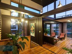 Amazing interior design of a shipping container home in Brisbane, Australia