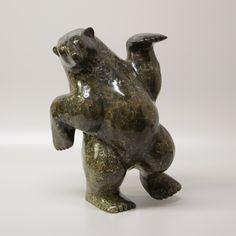 Nuna Parr - Dancing Bear 17.5 x 12 x 8 Price $8850 Cdn (2)
