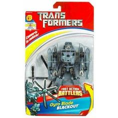 Transformers Fast Action Battlers  Blackout *** Check out the image by visiting the link.(It is Amazon affiliate link) #commentbackteam