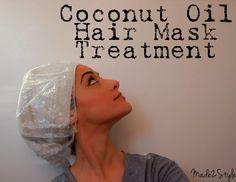 Coconut Oil Mask!