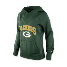 Women's Nike Green Bay Packers NFL Wildcard All Time Rib Hoodie - Polyvore