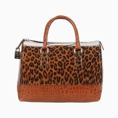Leopard bag Furla, borsa leopardata by Furla