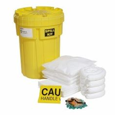 SpillTech SPKO-30 47 Piece Oil-Only 30 gallon Spill Kit  SpillTech HazMat Oil-Only 30 gallon spill kit. Spills happen no matter how hard you try to avoid them. Forklifts knock over drums, tanks are punctured and transporters leak and drip. It is important to have the right sorbents on-hand when these spills occur to eliminate the slip and fall hazard. A quick response is the first order of business and your best weapon in the fight against spills. This spill kit is packed with qualit..