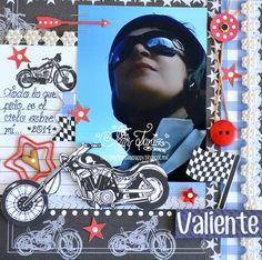 Valiente+Layout - Scrapbook.com