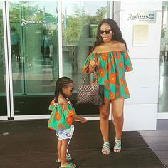 2019 Mother and Daughter Parent-child Summer Clothes Family Matching Outfit mom dress kids child outfits mum sister baby girl Ankara Styles For Kids, African Dresses For Kids, African Children, African Fashion Dresses, African Attire, African Wear, Ankara Fashion, Fashion Kids, Kids Outfits Girls