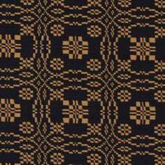 Lovers Knot 2024  Mustard Black Fabric