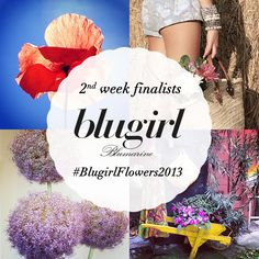 Congratulations to the second weekly finalists of our Instagram Photo Contest #BlugirlFlowers2013: @silviahiroshi, @Arianna, @Jessica Olmi, @Cristina Simone. Keep posting pictures to our Blugirl Instagram Page @BlugirlOfficial until next July 30th and stay tuned to our Instagram, Facebook and Pinterest pages to discover who next week's finalists will be. Thank you all for submitting such beautiful images so far!