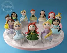 Princess Cupcakes by The Clever Little Cupcake Company