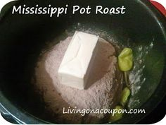 Mississippi Pot Roast....One of the best CrockPot Recipes Ever!!  A Must Try!